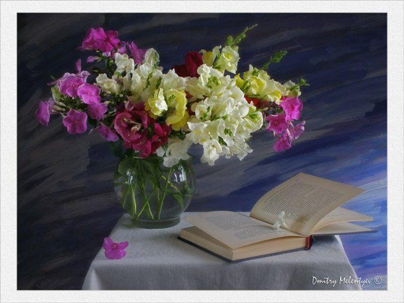 Книги и цветы открытки, про женщину