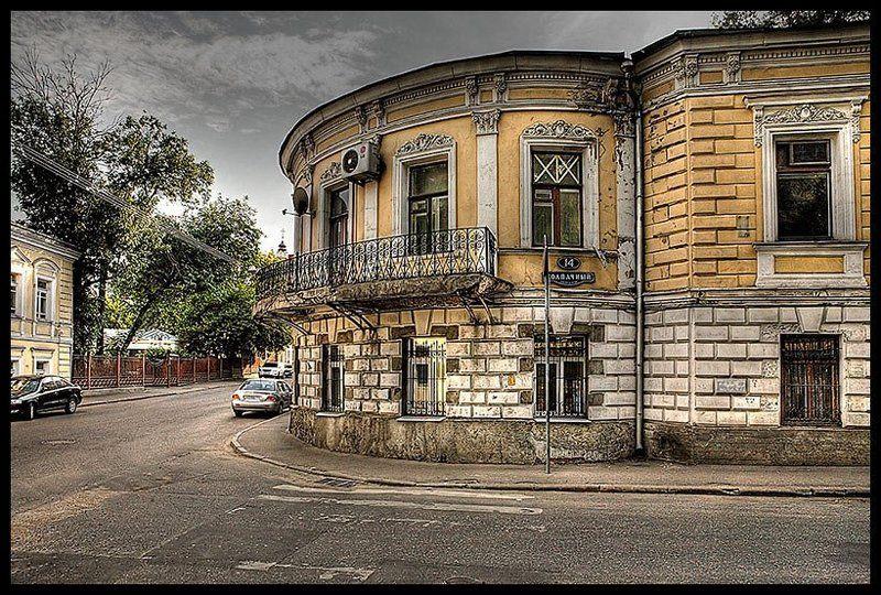 Мой город.Колпачный переулок.photo preview