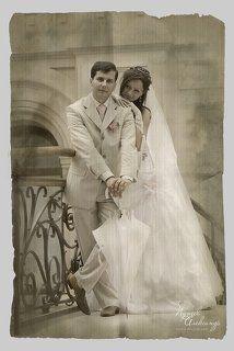 Свадебное ретро...