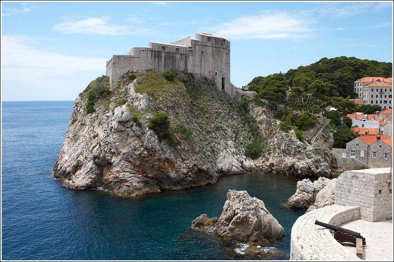 хорватия, дубровник, море, пейзаж На страже городаphoto preview