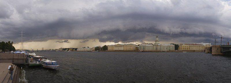 нева, тучи Предгрозовое-2photo preview