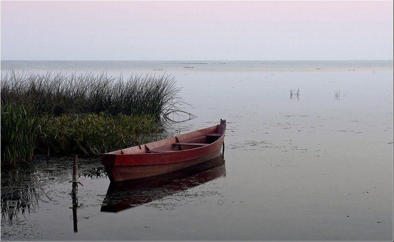переславль, залесский, золотое, кольцо, лодка, озеро, плещеево Лишь только заря занималась...photo preview