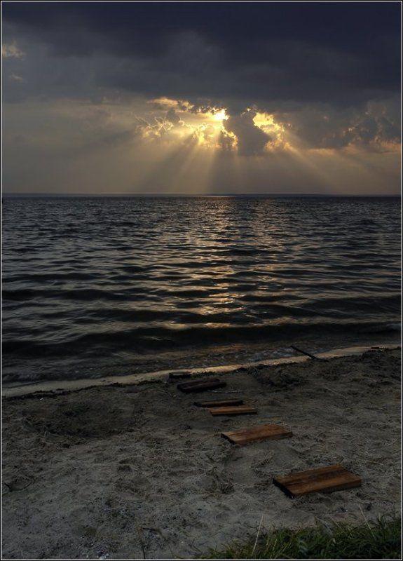 закат, лучи, переславль, залесский, золотое, кольцо, плещеево, озеро По солнечной дорожке за лучамиphoto preview