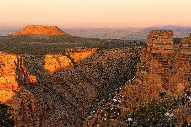 сша, аризона, гранд каньон, 2010 Кедровая гораphoto preview