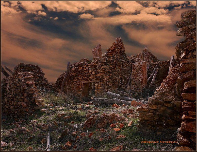 дом, развалины Шаги времениphoto preview