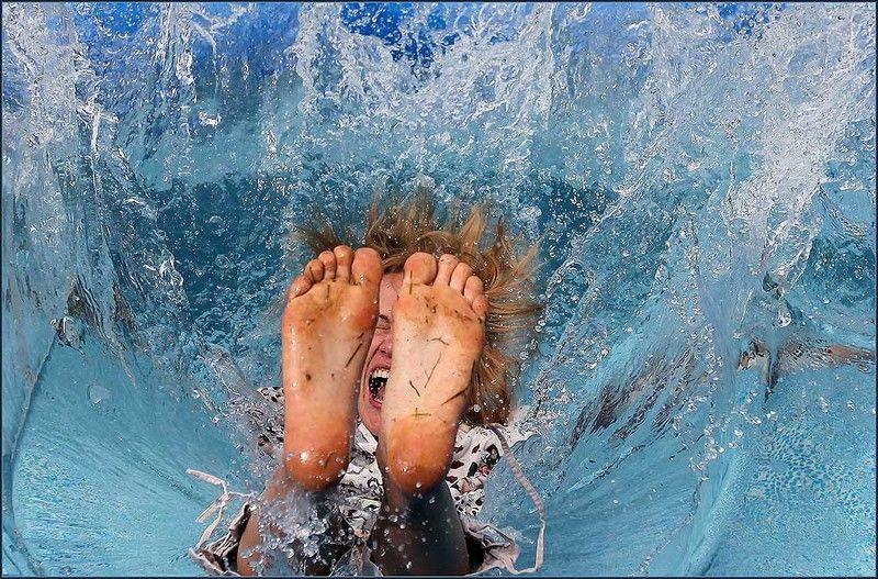 вода, брызги, прыжок Прыжокphoto preview