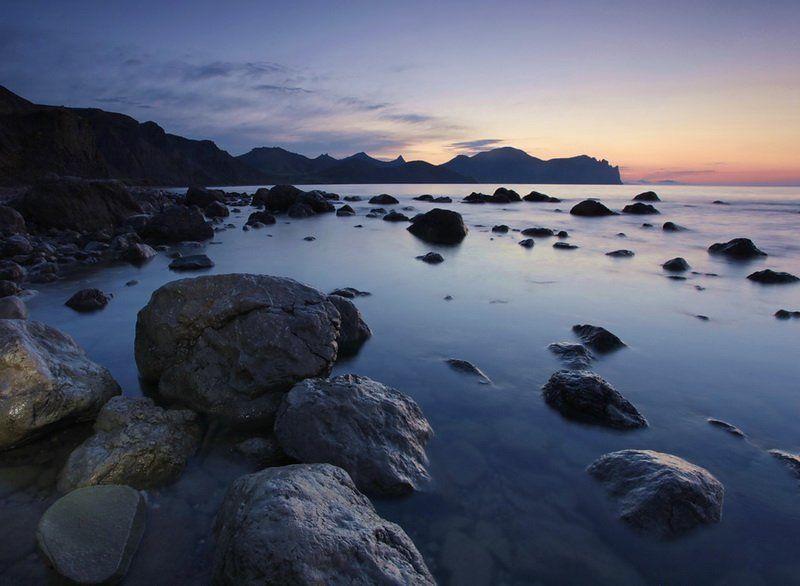 море,камни,утро утро Лисьей-1photo preview