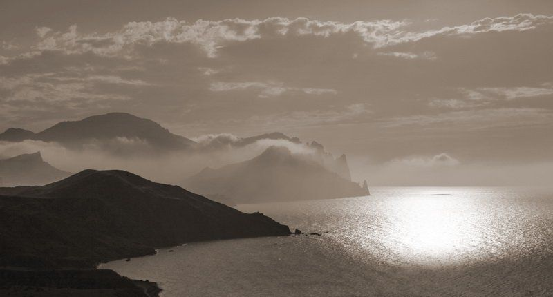 крым,скала,море утро Лисьей-2photo preview
