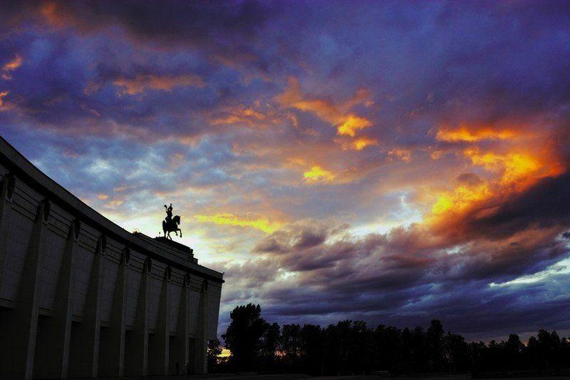 город, закат, прогулки Пожарphoto preview