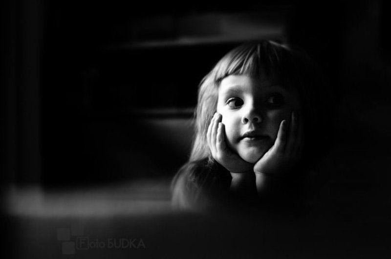 дети, портрет, чб ___photo preview