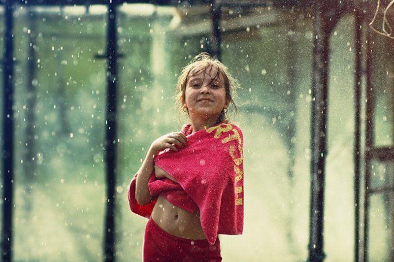 девочка, дождь, солнце Я моделькоphoto preview