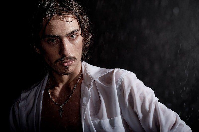 мужина, вода, мокрый, рубашка, аква-студия, студия loft про мокрых красивых мужчинphoto preview