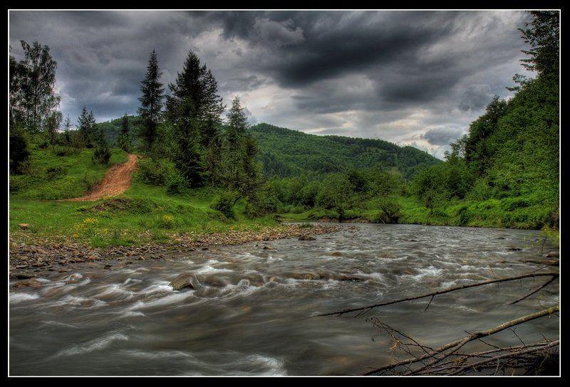 река, лес, каньон, камни ***photo preview