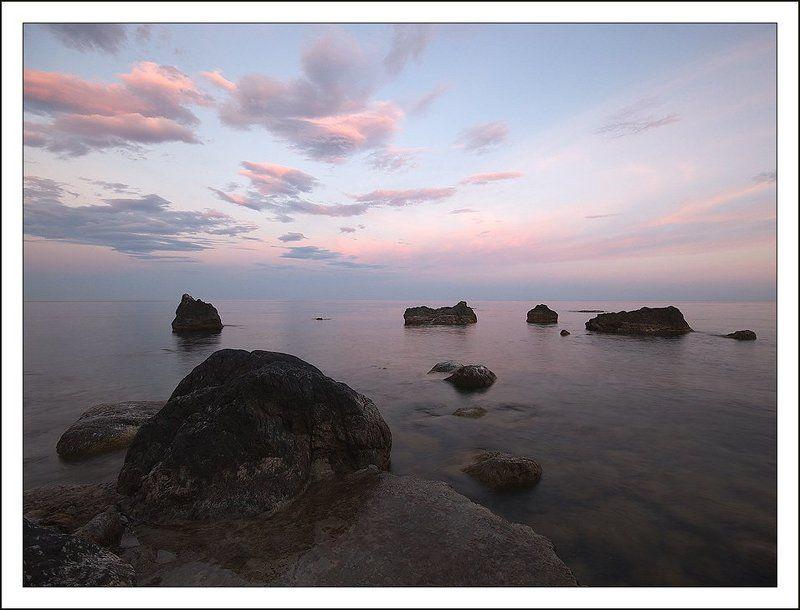крым, симеиз, море, вечер, закат Морская вечерняя зарисовкаphoto preview