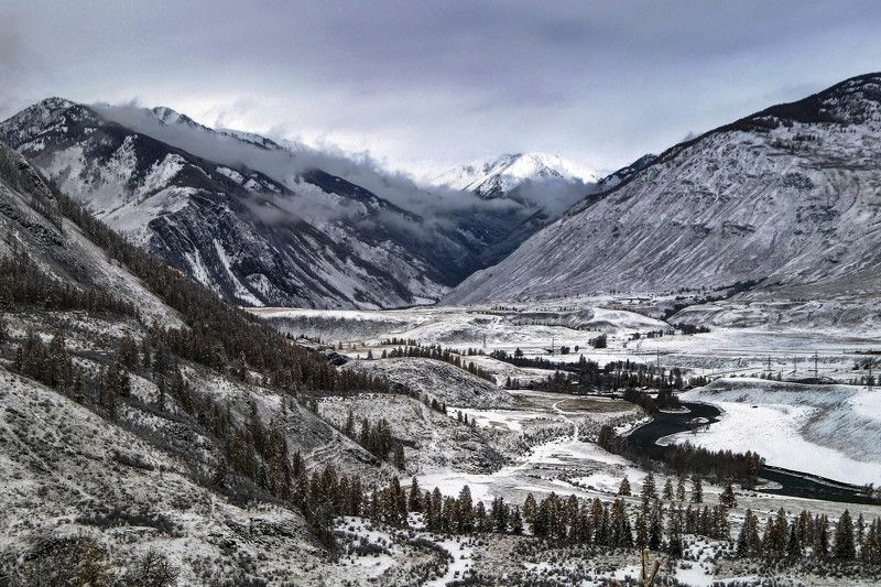 природа, алтай, путешествие, , пейзаж, река, чуя, ущелье Оройское ущелье...photo preview