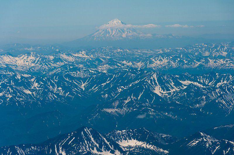 вулкан, камчатка, лето, утро photo preview
