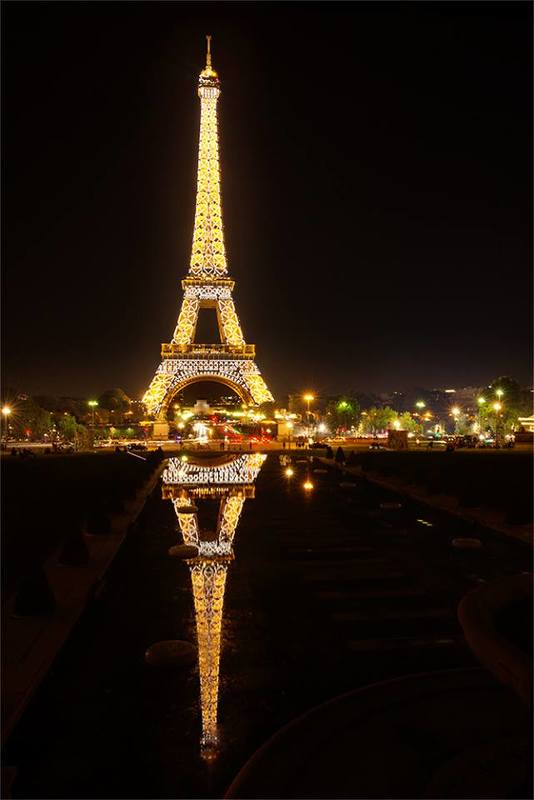 reflection, lights, diamonds, bijou, Paris, Night, Paradise, Paris at night, Eiffel Tower Paris at night with Eiffel Towerphoto preview