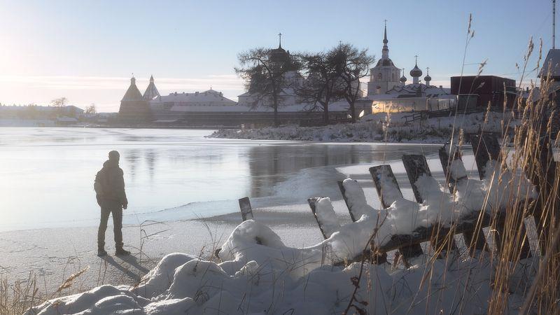 соловки, первый лед, монастырь, святое озеро Первый лед на Соловкахphoto preview