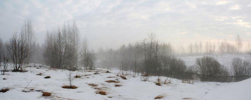 зима, утро Русский пейзаж )photo preview