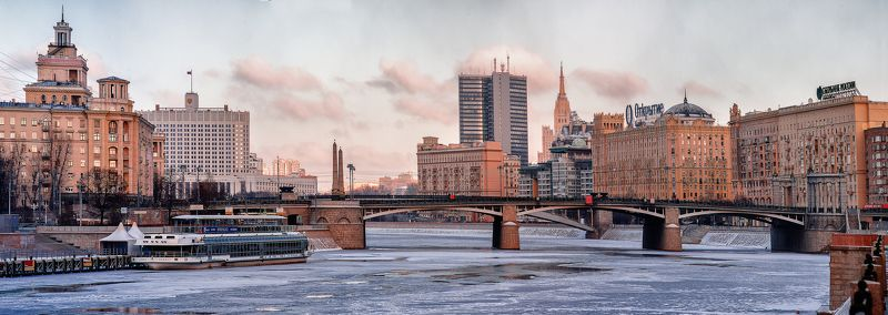 город, пейзаж Бородинский мост.photo preview