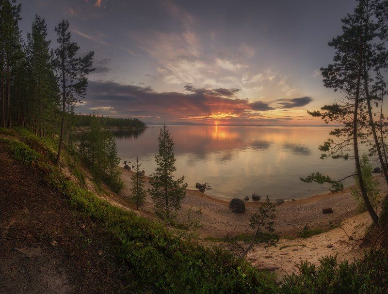 кольский полуостров, Колвицкое озеро, Кандалакша Летние зарисовкиphoto preview