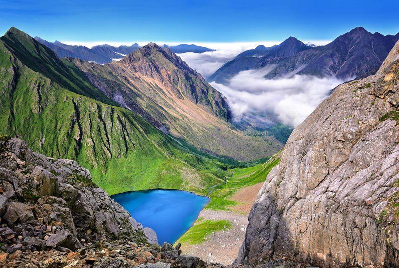 Перевал Горных Туристов. Тункинские гольцыphoto preview