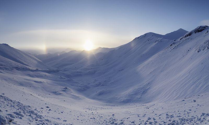 Арктика, Чукотка, гало На высотеphoto preview