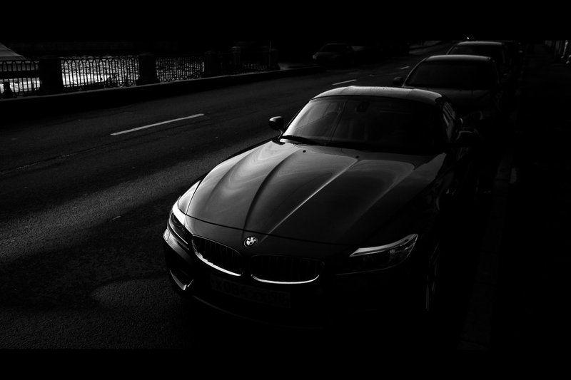 Авто, Автомобили, Автомобиль, Бмв, Город, Мерседес, Санкт-петербург, Чб, Черно-белое, Черное ...photo preview