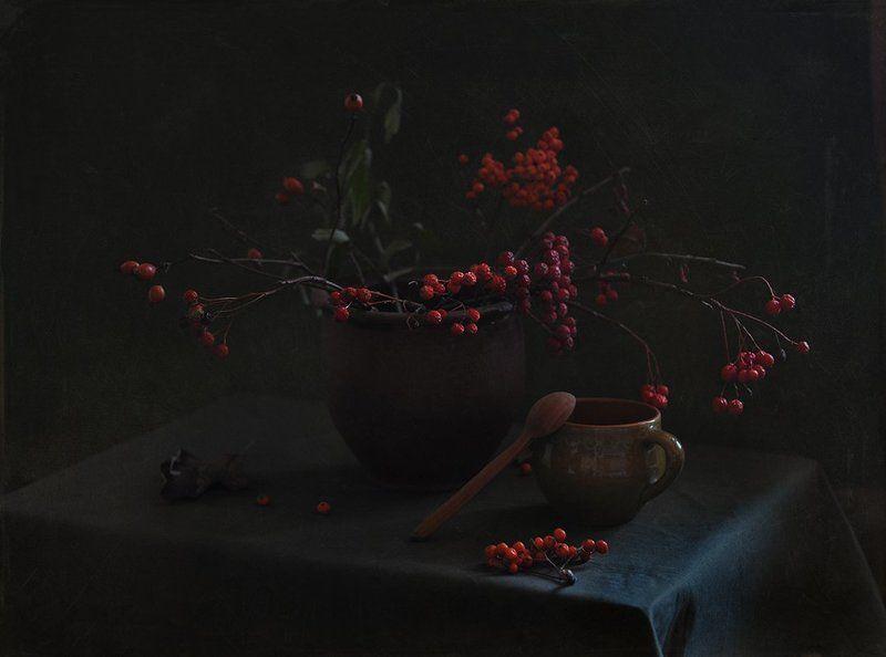 рябина, шиповник,  Красна ягода...photo preview