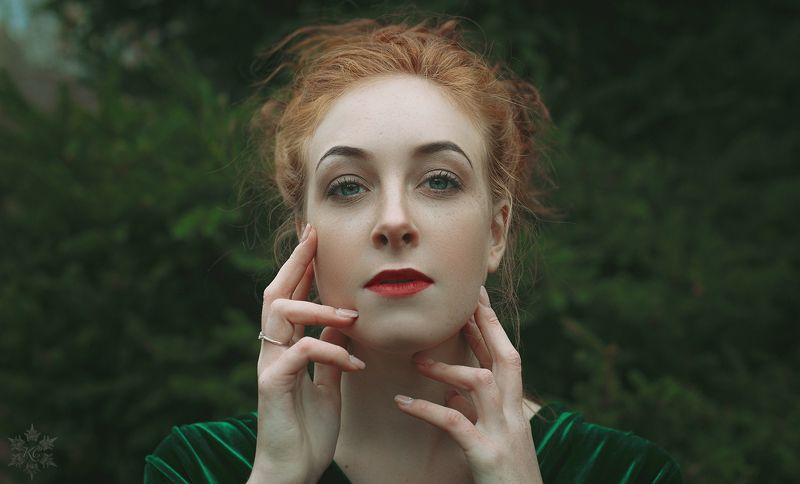 девушка, лес, осень, girl, forest, autumn Маргоphoto preview