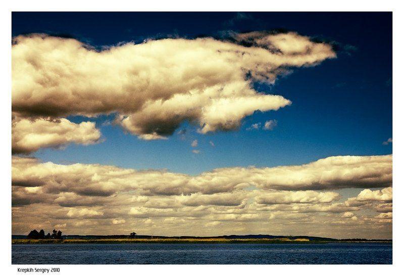 Облака, белокрылые лошадки...photo preview