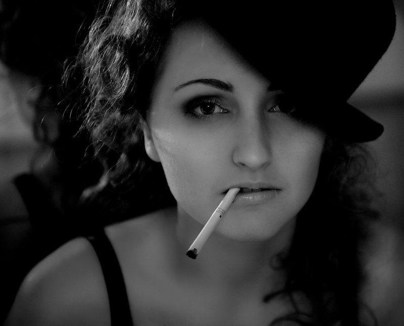 девушка, портрет, ч/б, джаз, ретро, гламур В джазе только девушкиphoto preview