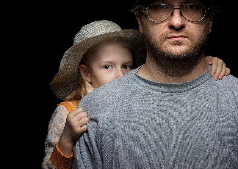 Автопортрет с дочейphoto preview