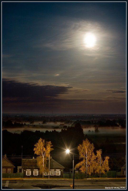 ночь Когда восходит полная луна...photo preview