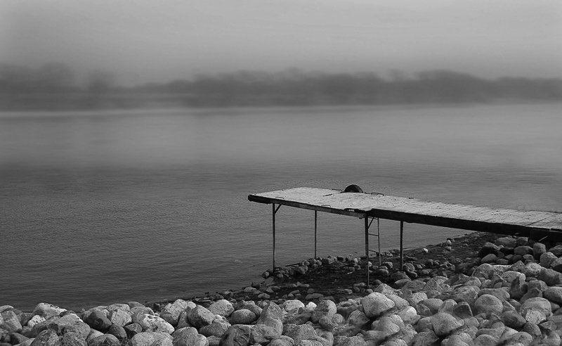 минимализм, мост, мысли, b/w ***photo preview