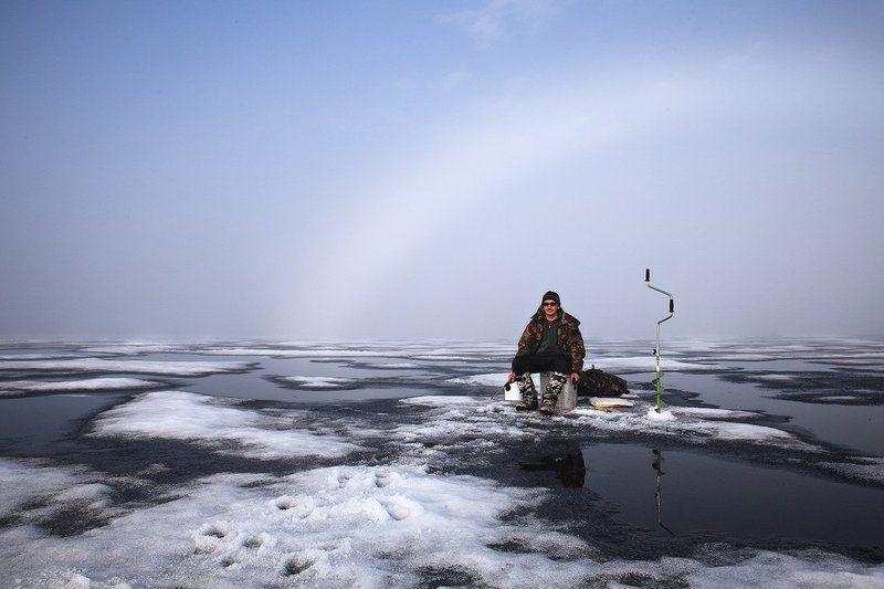 природа,рыбалка,север,весна Под крышей радуги.(Вот так мы рыбачим)))photo preview