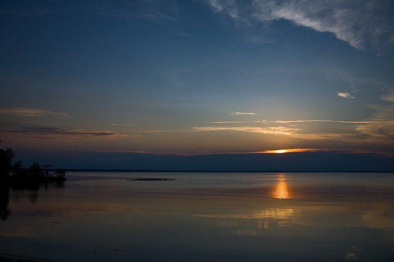 озеро, закат, тишина Тихий вечер... vol 2.photo preview