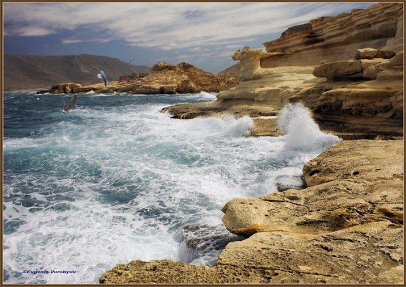 море, скалы, прибой Из цикла< Пейзажи Андалусии>photo preview