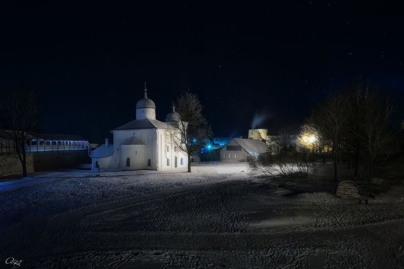 Зимняя ночьphoto preview