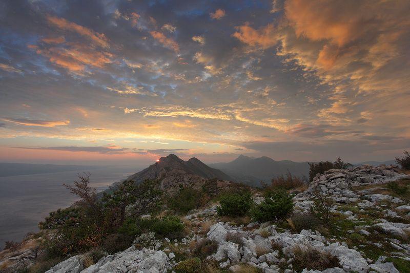 Горы Море Закат На закатеphoto preview