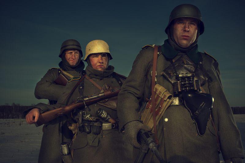 art, digital, photoshoot Unbekannte Soldatphoto preview