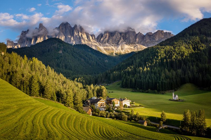St. Maddalena, Dolomitesphoto preview