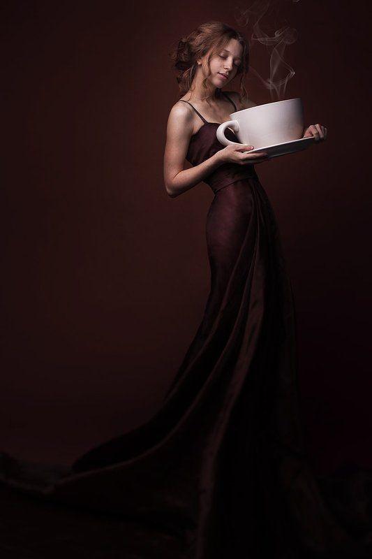 Кофе. Люблю утром выпить одну маленькую чашечку.photo preview