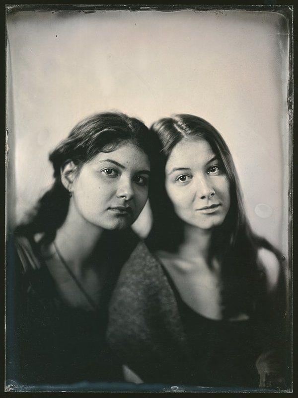 ambrotype Двойняшки Катерина и Анастасия.photo preview