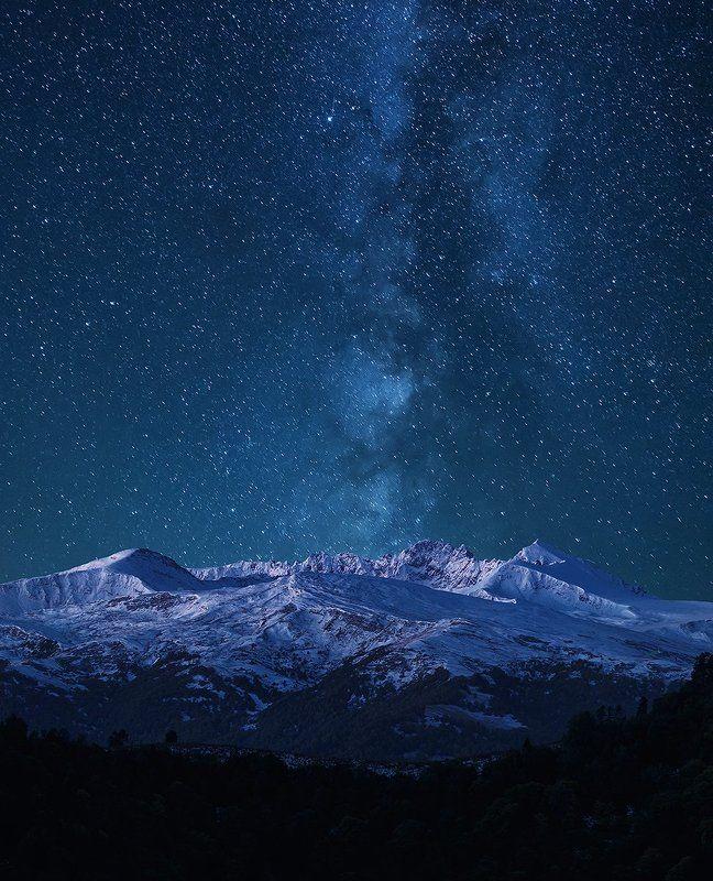 Попробуй ночью не уснуть и посмотри на Млечный путь!..photo preview