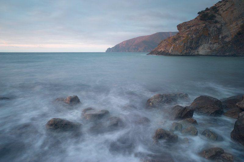 крым, море, горы, свет, закат, рассвет, природа, осень Стражphoto preview