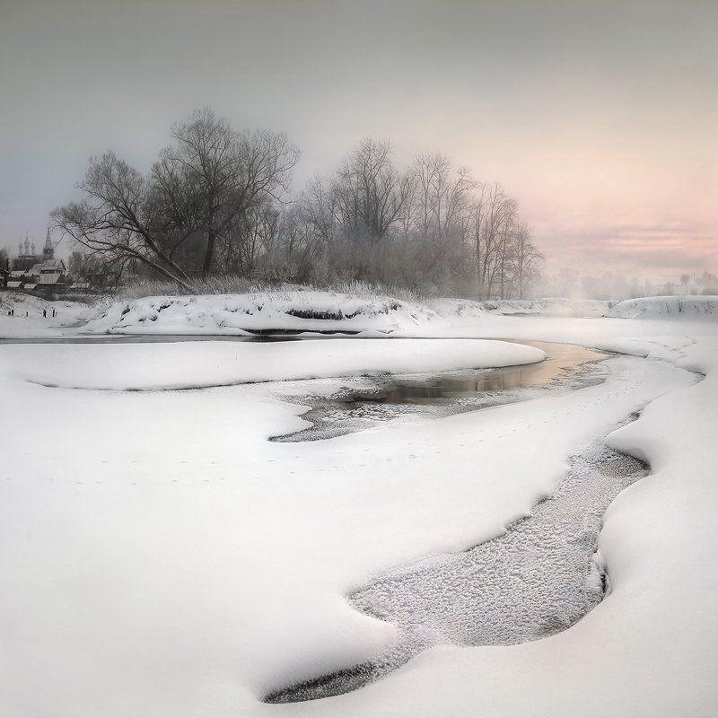 Морозный вечер..photo preview