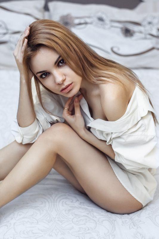 девушка, портрет, взгляд, глаза, nikon Надяphoto preview