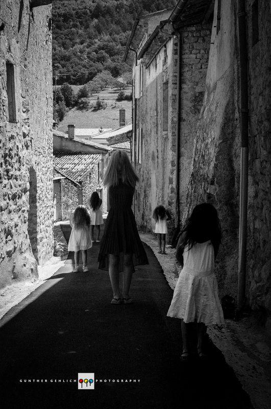 children, black&white, fine art, portrait, Say Nothingphoto preview