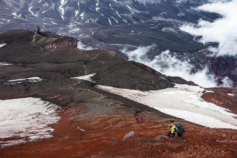Вулкан,восхождение,Авачинский,Вверх,группа,поход,Камчатка Вверхphoto preview